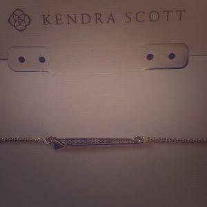 Kendra Scott gold plates necklace